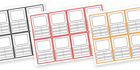 blank top trumps card template blank top trumps card clipart best