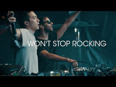 Or R3hab Lyrics R3hab Headhunterz Won T Stop Rocking Official