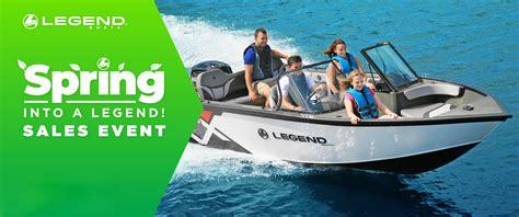 legend boats promotions 4legend promotions dewildt marine hamilton ontario