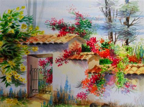 imagenes de paisajes en acuarela cuadros modernos pinturas y dibujos paisajes en acuarela
