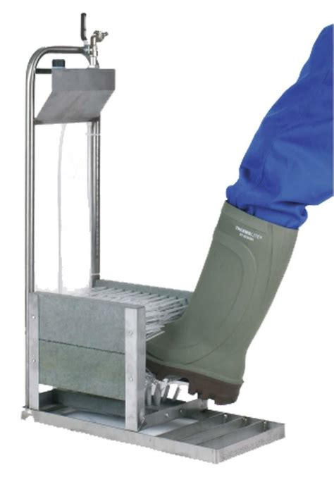 boot cleaner profi boot cleaner with mains water supply for