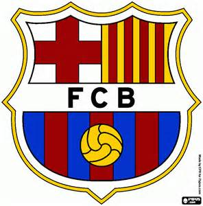 fc barcelona colors barcelona logo coloring page