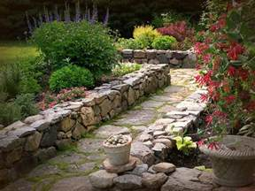 Garden Using Rocks Rock Landscaping Outdoortheme