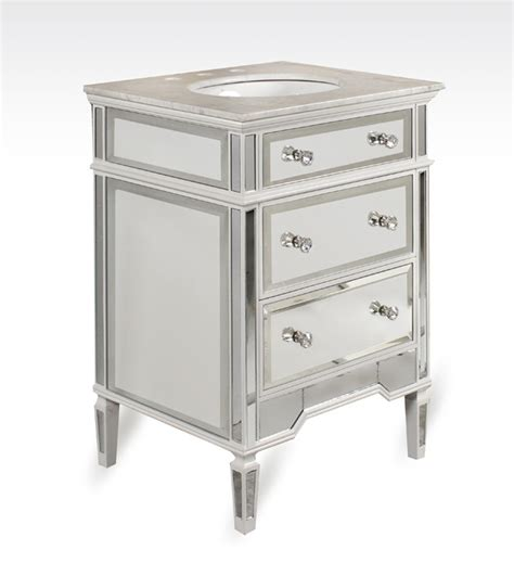 Mirrored Vanities For Bathroom 25 Quot Belize Mirrored Bathroom Vanity Ba847524