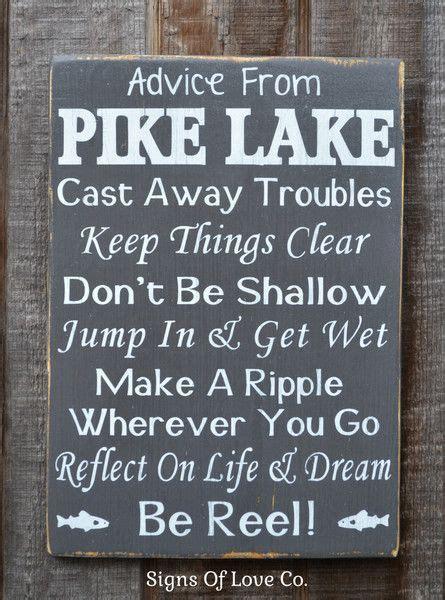 1000 lake quotes on pinterest lake signs lake rules custom lake name signs lake house d 233 cor favorite place