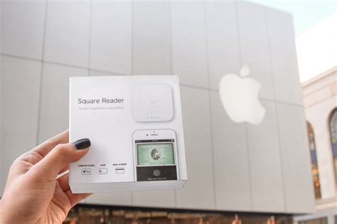 Apple Now Selling Square's New NFC Reader for Apple Pay and Contactless Payments   Mac Rumors