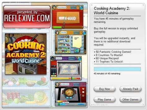 cuisines am駭ag馥s originales cooking academy 2