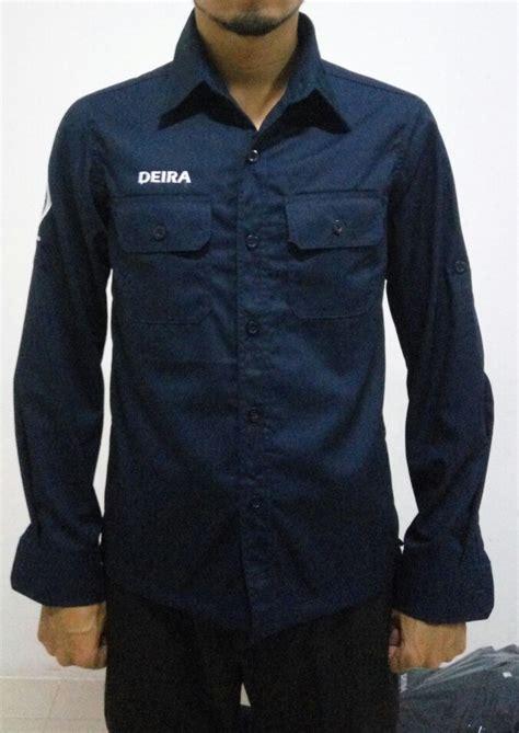Foto Baju Lapangan seragam kantor cowok agar terlihat profesional seragam kantor id