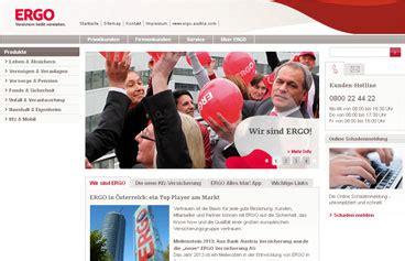 Kfz Versicherung Berechnen Wien by Ergo Versicherung Online Berechnen Und Vergleichen