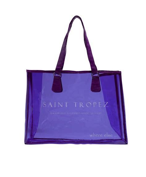 sacs transparents femme sac de plage transparent et tendance