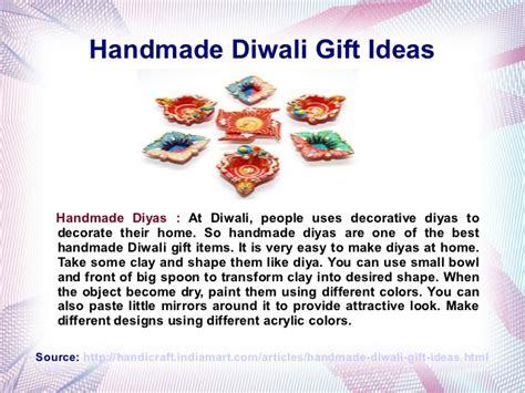 Handmade Diwali Gifts - handmade diwali gift ideas