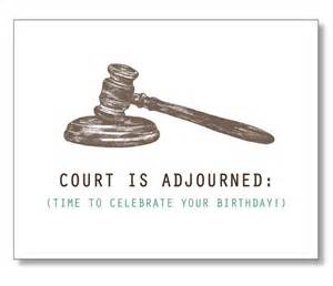 hilarious lawyer birthday card for friend judge by designparlour