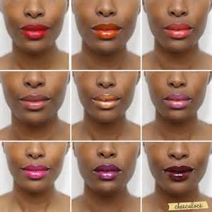 lip color for brown skin beautiful lip colors via chescalocs pretties
