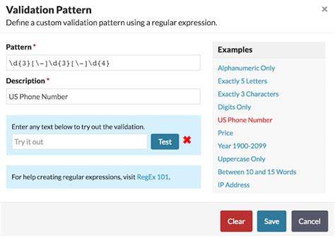 pattern validation phone five form building mistakes how to avoid them