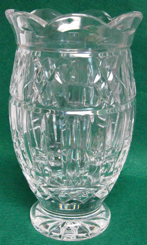 Waterford Flower Vase by Waterford Master Cutter 8 5 8 Quot Flower Vase Signed Ebay