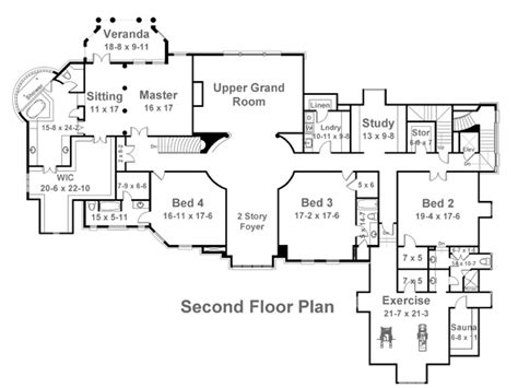 manor floor plan bellenden manor 6133 5 bedrooms and 5 5 baths the house designers