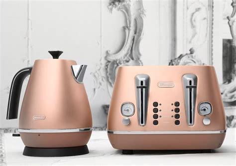 Harvey Norman Home Decor have you seen the new delonghi copper kitchen appliances