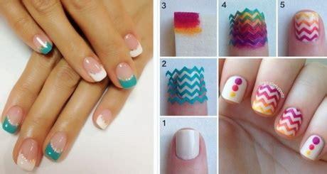 Fingernägel Lackieren Muster Einfach by Geln 228 Gel Einfaches Muster