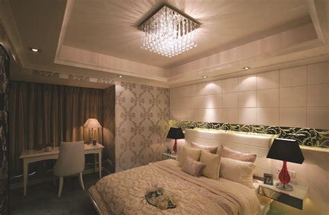 modern ceiling lights illuminating shiny interior