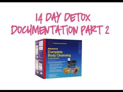 14 Signs You Need To Detox by 14 Day Detox Documentation Part 2