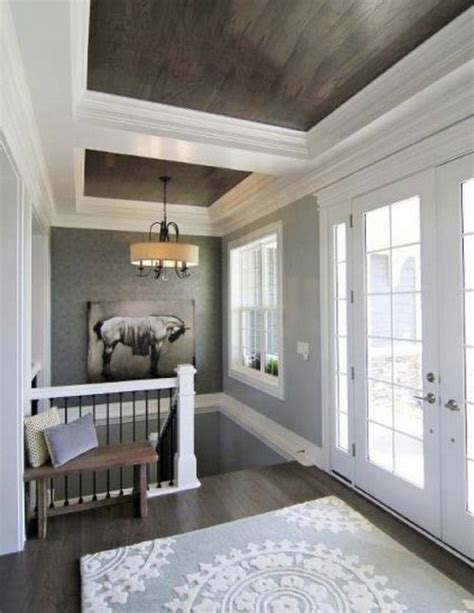 Paneled Ceiling by Rustic Design Element Wooden Ceiling 20 Photos
