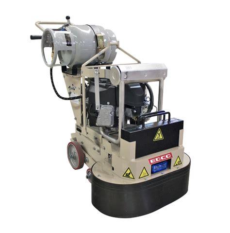 Edco Floor Grinder by Edco Dual Disc Concrete Floor Grinders In Electric Or
