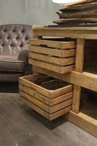Kitchen Buffet Storage Cabinet - pallet and wooden crate side board pallet furniture diy