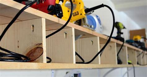 Garage Organization Power Tools Organizing Power Tools In The Garage Hometalk