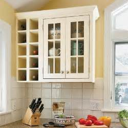 Kitchen Cabinet Wine Storage Custom Touches Wine Storage All About Kitchen Cabinets This House