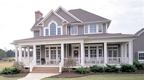 Large Front Porch House Plans by Home Plans With Porches Home Designs With Porches From