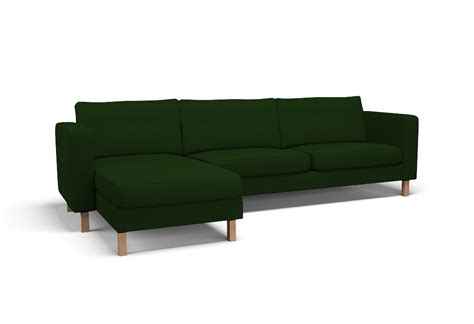 karlstad three seat sofa karlstad three seat sofa and chaise longue left cover