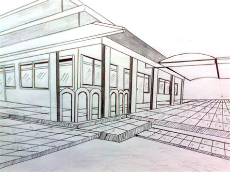 tutorial menggambar perspektif 2 titik hilang cara menggambar perspektif interior ask home design