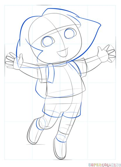 Drawing The Explorer Step By Step