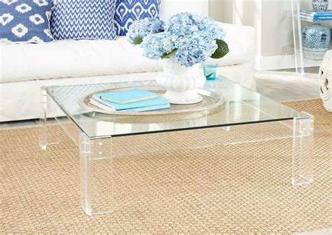 Ideas For Lucite Coffee Table Design Lucite Parsons Tables Lucite Tables