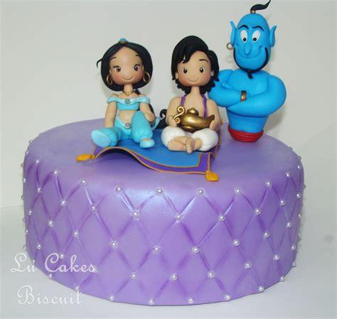 Lu Alladin topo de bolo lu cakes biscuit elo7