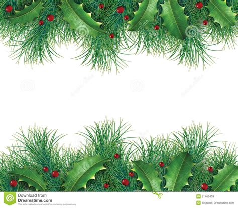 card frames templates pine boughs pine branches with royalty free stock images image
