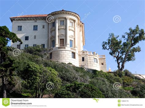 Ranch House Plan by Getty Villa Malibu Stock Image Image Of Carving