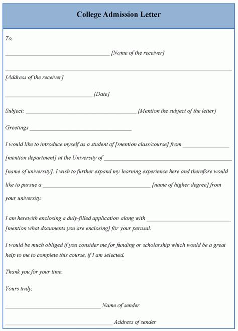 Hillsdale College Letter Of Recommendation College Application Template Autos Post