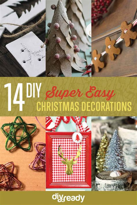 ready made cristmas decorations easy diy decorations diy ready