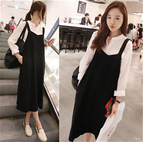Annbaby 8 H Skirt Rok Korea 2015 korean style womens retro style fashion suspender skirt dress