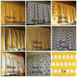 Yellow And Gray Kitchen Curtains Window Curtain Valance Premier Prints Corn By Sosarahsews