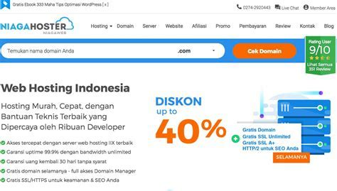 Niagahoster.co.id Pilihan Tepat Dalam Membeli Layanan Jasa