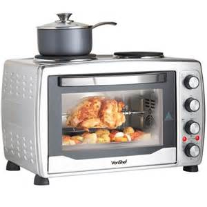 small cookers buy vonshef 36l convection mini oven grill rotisserie