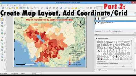 layout view in qgis create map layout qgis printing and exporting