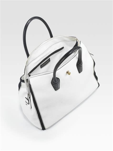 Ysls Muse In White Now On Asos by Yves Laurent Embossed Bi Color Muse Two Bag Iv