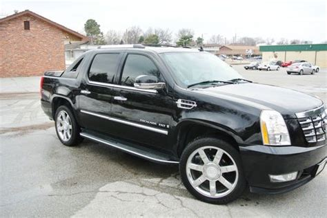 how petrol cars work 2007 cadillac escalade electronic toll collection purchase used 2007 cadillac escalade ext black 6 2l awd completely loaded with 22inch rims in