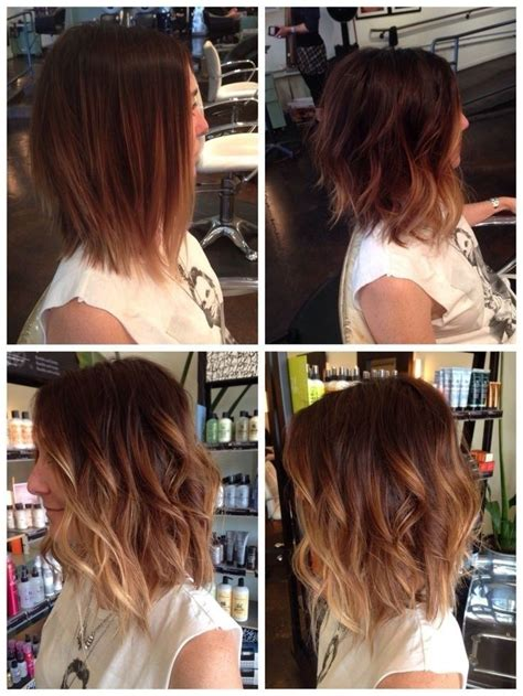 how to ombre shoulder length hair 20 great hairstyles for medium length hair 2016 pretty