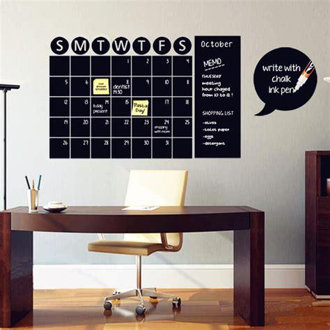 chalk wall stickers מוצר chalkboard calendar decals chalk board wall sticker