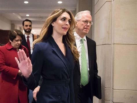 hope hicks politics hope hicks refuses to answer questions about trump
