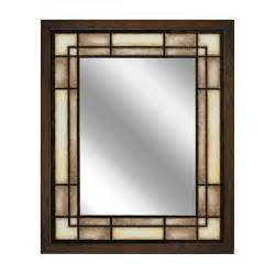 craftsman style bathroom mirrors glacier bay bathroom mirrors the home depot